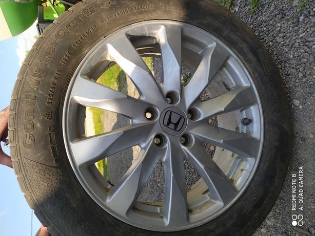 Продам оригинальный диск Honda CR-V с резиной на запаску