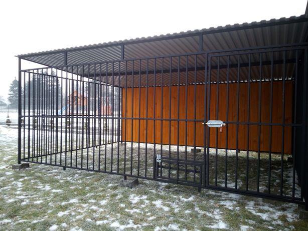 Duży boks kojec dla psa małopolskie klatka dla duzego psa