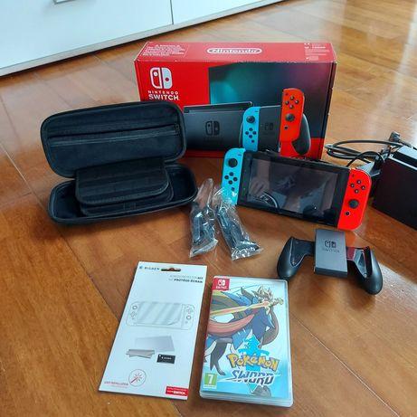 Nintendo Switch +JOY RED&BLUE