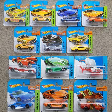 Hot Wheels 13 штук Модельки Машинки Іграшки