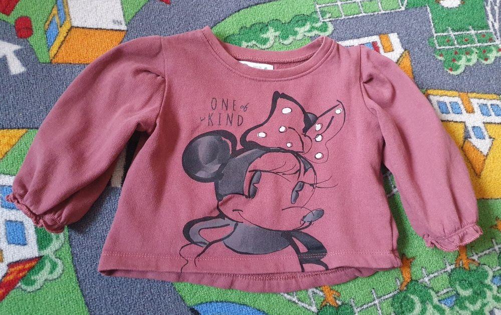 Poszukiwana bluza Cubus Mini 86 Myszka Minnie antyczny róż bufki Działoszyn - image 1