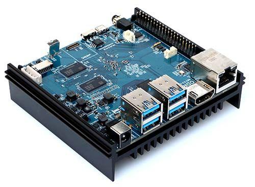 Odroid N2 4 GB RAM, Hexa-core S922X / obudowa/zasilacz/ GRATIS wysylka