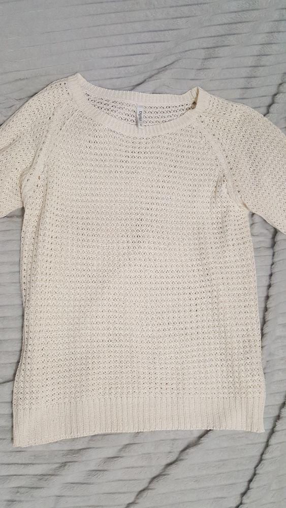 Biały sweterek rozm. XL Koziegłowy - image 1