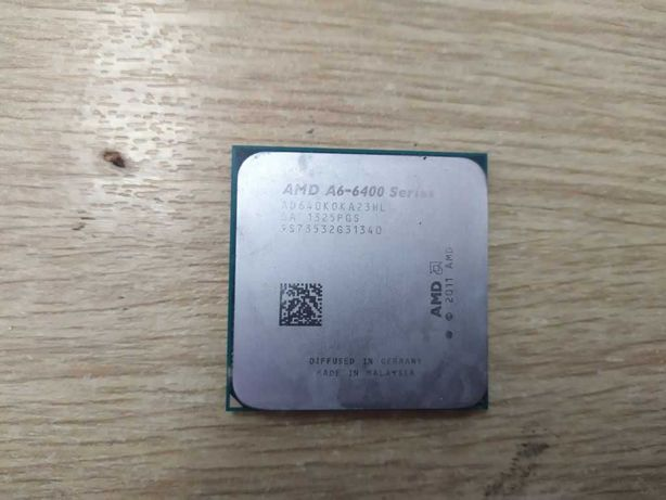Процессор AMD A6-6400 2 ядра 3,9-4,1 GHz sFM2