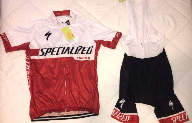 Fato de Ciclismo Specialized Novo