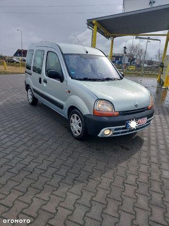 Renault Kangoo 1.6 16V Klimatyazcja, niski potwierdzony przebieg. Ładny Egzemplarz!