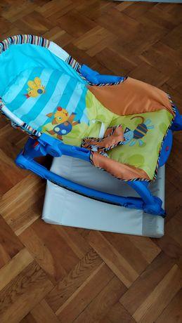 Fotelik-bujaczek-leżaczek+przewijak