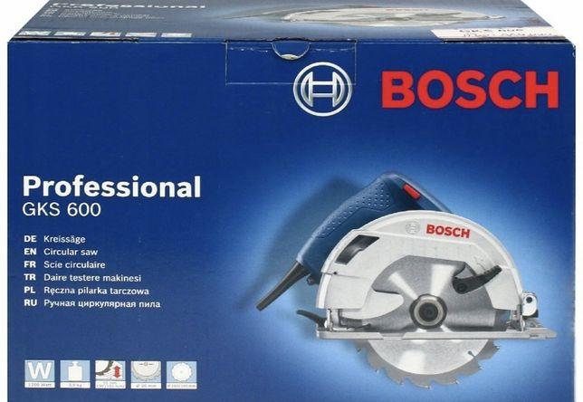 Pilarka Bosch GKS 600 - NOWA, Fabrycznie zapakowana