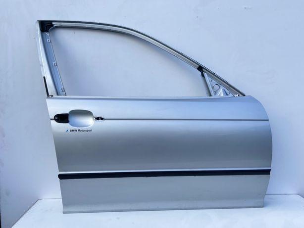 Дверька Дверь на БМВ Е46 Передня Левая Titan Silber Metallic 354 Идеал