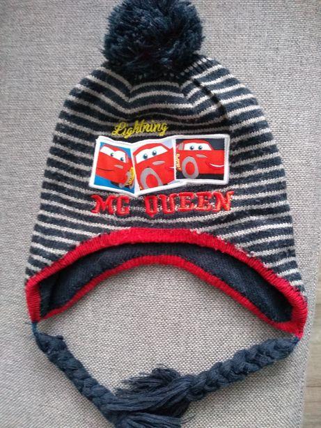 Czapka czapeczka zimowa przejsciowa r. 40/45 cm