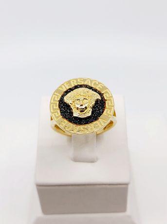 Złoty pierścionek próba 585 Rozmiar 17