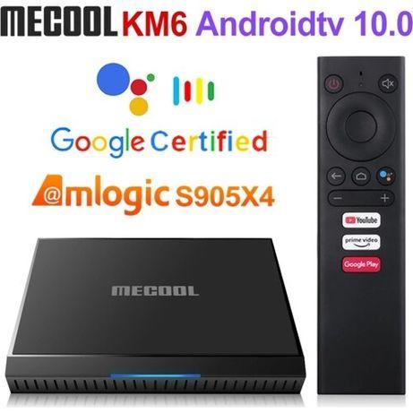 MECOOL KM6 Amlogic S905X4 Android 10.0 2Гб/16Гб
