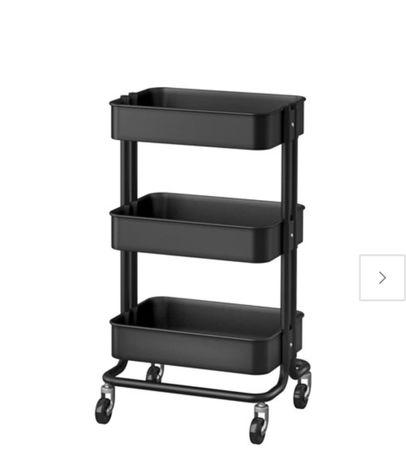 IKEA RASKOG Тележка, візок , черная