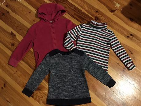 Пакетом теплая одежда