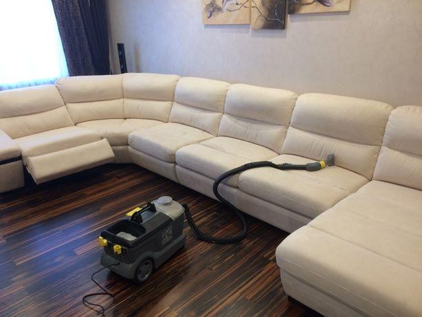 Химчистка, чистка мягкой мебели на дому
