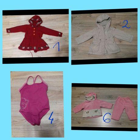 Sweterek,dresik,kurteczka przejściowa dla dziewczynki 74, 86-92,92,98