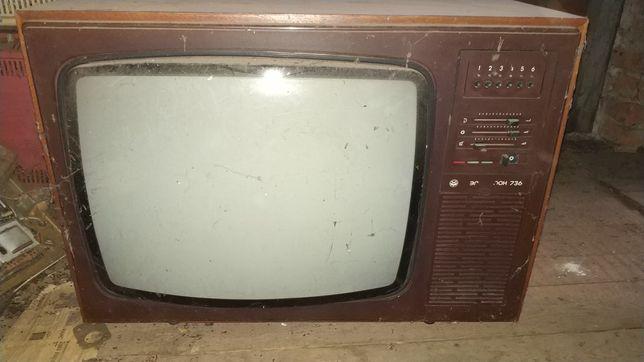 Ламповый телевизор, монитор