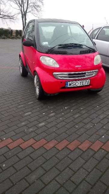 Smart ForTwo 1999r 600ccm