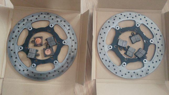 Yamaha Fjr 1300 tarcze hamulcowe + klocki sbs