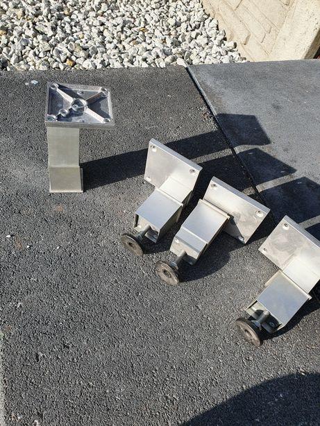 Nóżki aluminiowe regulowane szafka stolik