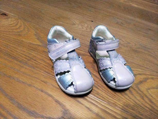 Sandały Geox dla dziewczynki r. 22