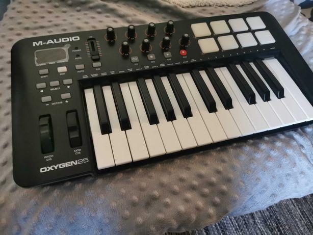 Teclado MIDI M-audio Oxygen25