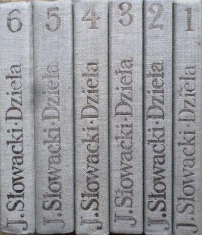 Słowacki Dzieła 5 tomów