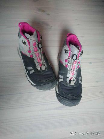 Buty trekingowe dziewczęce 35  - CROSSROCK MID WTP