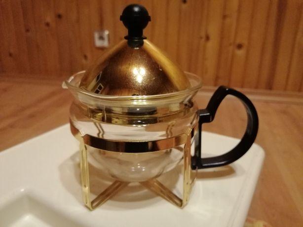 Dzbanuszek do zaparzania herbaty kawy unikat zaparzacz