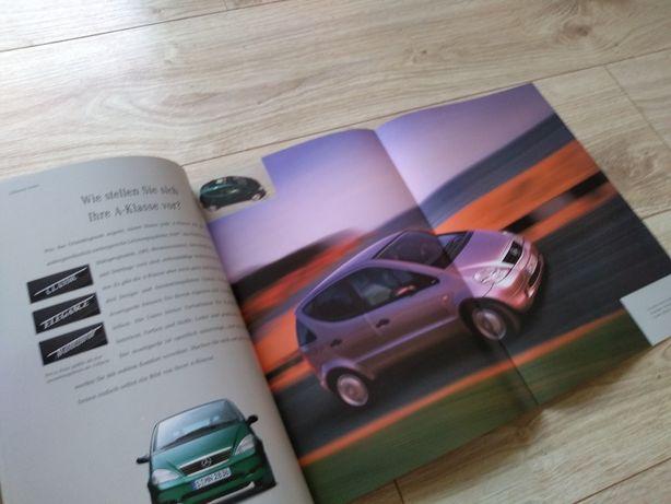 Mercedes A Klasa - prospekt folder literatura - Grube wydanie