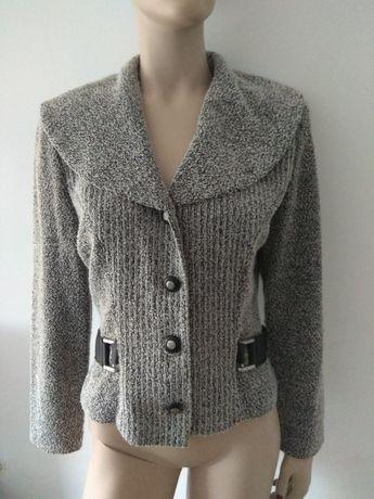 Żakiet/sweter damski z paskiem M/L
