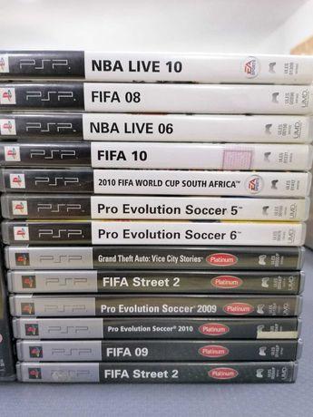 Jogos Playstation 3 e PSP