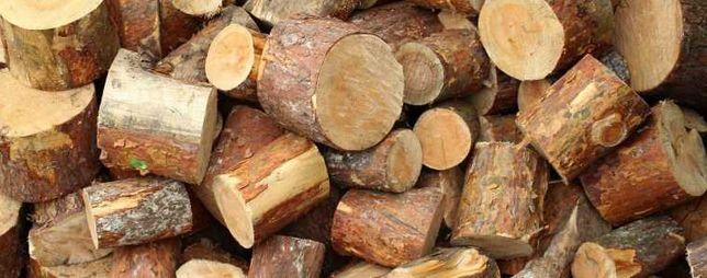 Drewno opałowe sosnowe.