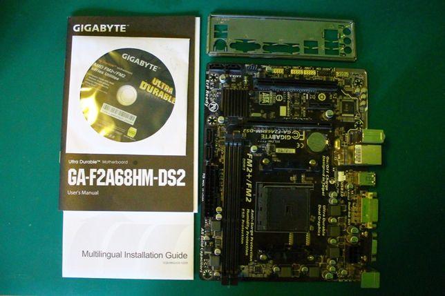Płyta główna GIGABYTE | F2A68HM-DS2 | FM2/FM2+ | DDR3