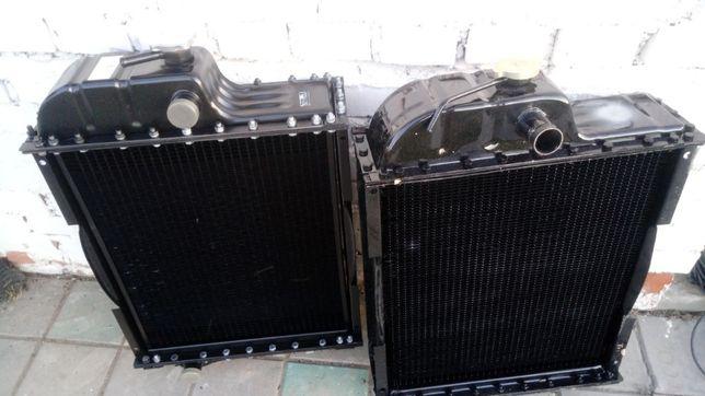Радиатор водяной на МТЗ латунный медный алюминиевый Д-240 охлаждения