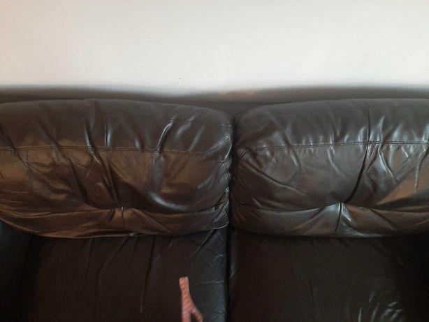 Sofa skórzana do salonu