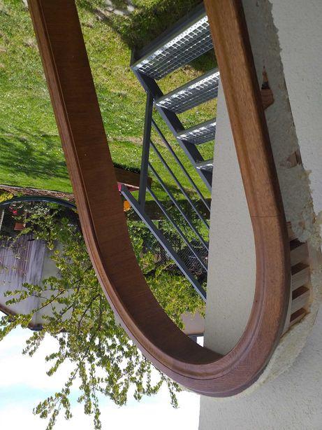 Futryna łuk drewniany drzwi