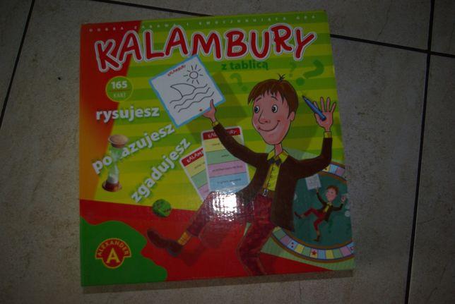 Gra Alexander Kalambury z tablicą od 7 lat 2-4 graczy
