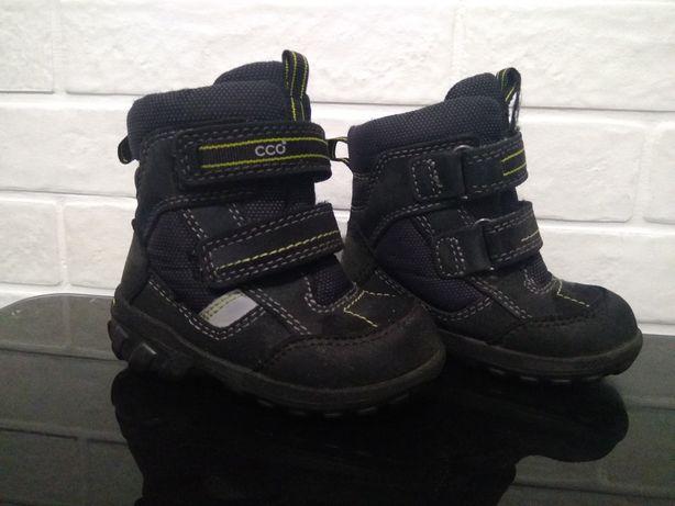 Ботинки ecco 21 р. зимние gore-tex