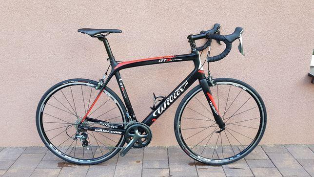 Jak nowy rower szosowy Wilier Gran Turismo 2x10 tiagra carbon XL