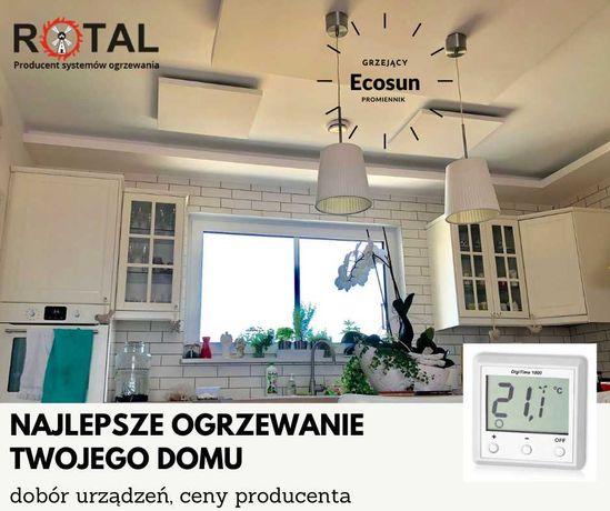 Promiennik Ecosun na podczerwień energooszczędne ogrzewanie Producent