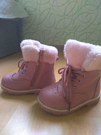 Срочно!Зимние сапожки! Зимние ботинки 23р!