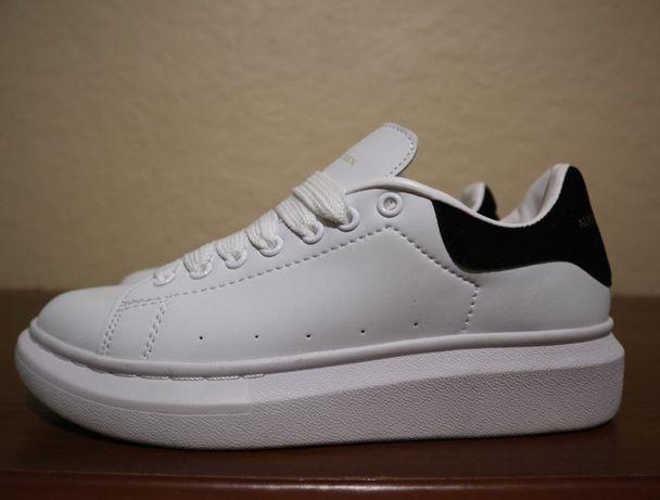 Кроссовки кожаные alexandеr mcqueen размер 39
