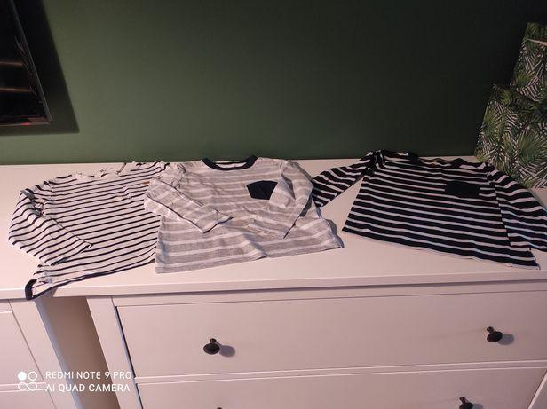 3*H&M koszulki bawełniane  4-6lat.