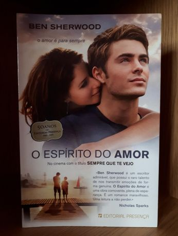 """O espírito do amor"" - Ben Sherwood"