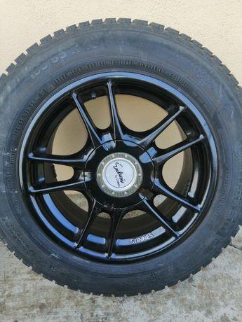 Opony zimowe Continental 195/65/15 XL plus alufelgi Ronal 5x112