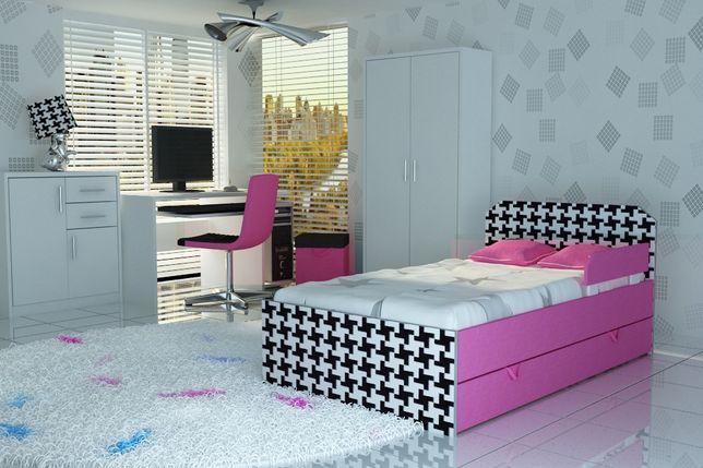 Super łóżeczko dla dziecka z szufladą oraz materacem,łóżko dla dziecka