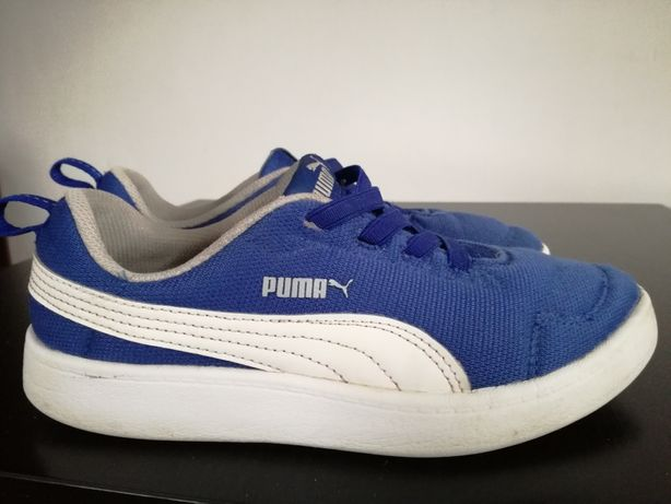 Buty PUMA r. 35, niebieski
