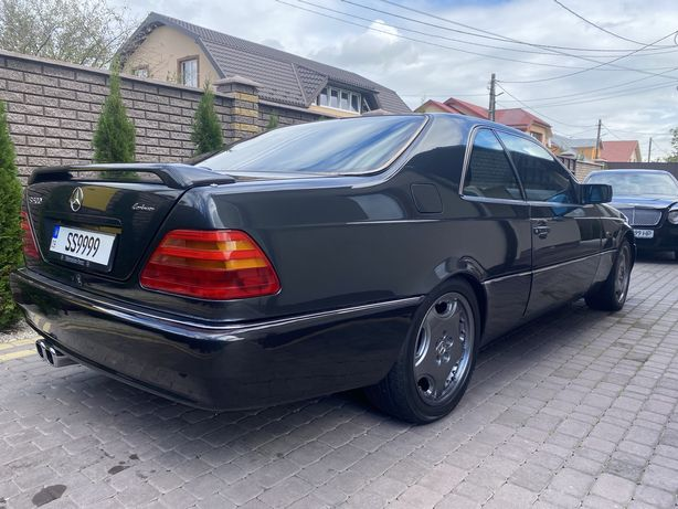 Mercedes W140 coupe Lorincer S500