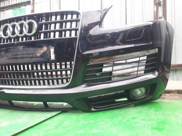 Бампер Передний Ауди ку7 Audi Q7 4L Авторозборка Шрот Бампер